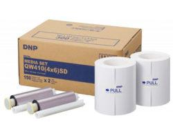 DNP Mediaset QW410 10×15 für 2×150 Prints SD